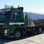 4 juni ankommet til Volvo Titan i Ringsted