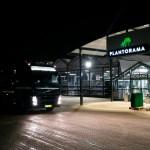 Fejning af parkeringsplads hos Plantorama i Vallensbæk