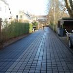 Stevns Miljø Service renser permeabel asfalt på Helenevej på Frederiksberg