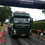 Fejning af vej til Stevns Jernmand | Stevns Miljø Service